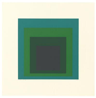 Josef Albers, 'O-G', 1967
