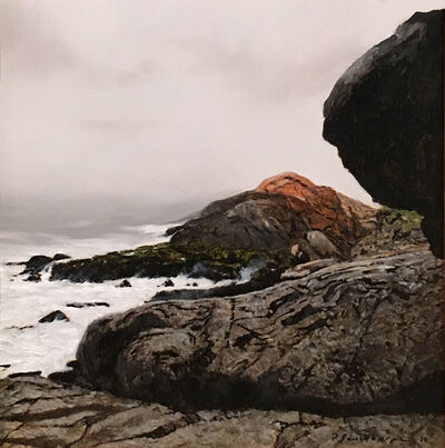 Peter Sculthorpe, 'Heavy Weather at Gull Rock - Monhegan', 2019