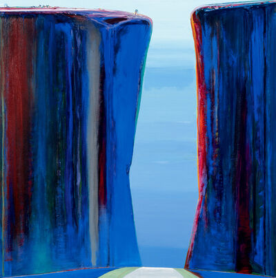 Wayne Thiebaud, 'Canyon Pass', 2019