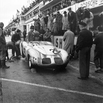 Jesse Alexander, 'Porsche Pit Stop, Le Mans', 1958