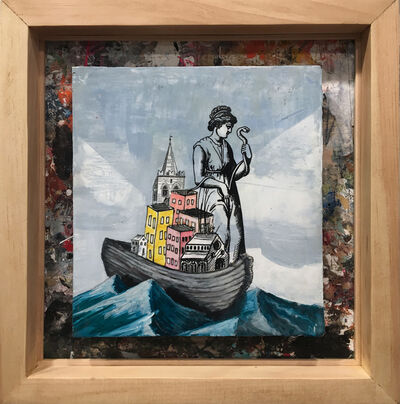 David Hochbaum, 'Fury Ferry', 2019