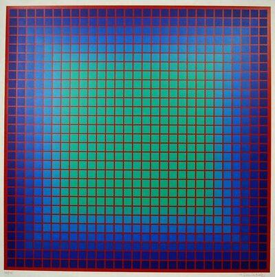 Julian Stanczak, 'Conferring Blue', 1978