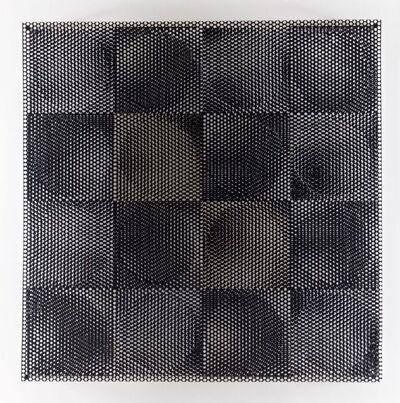 Antonio Asis, '8 círculos blancos, 8 círculos negros ', 1969