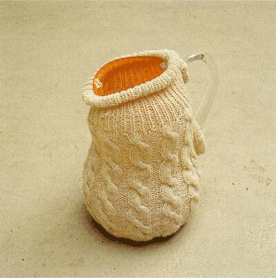 Maria Roosen, 'Kan met kabeltrui / Jug with cabel knit sweater', 1997