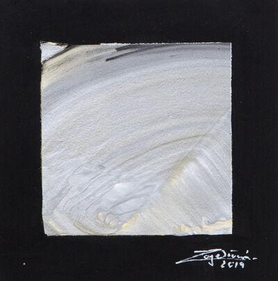 Roger Brönnimann, 'Metalic Waves No 2', 2019