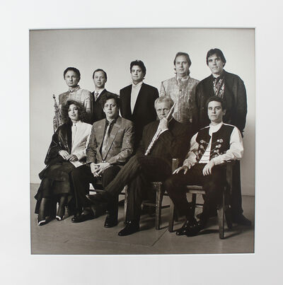 Peter Hujar, 'The Philip Glass Ensemble in Clothes from Dianne B.', 1984
