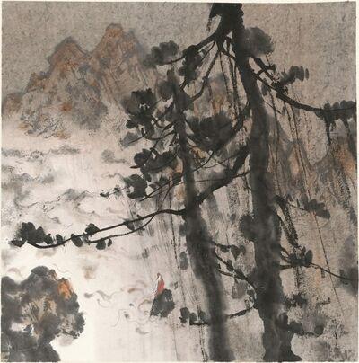 Lin Yusi, 'A Singing Monk', 2014