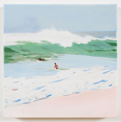 Isca Greenfield-Sanders, 'Green Wave', 2018