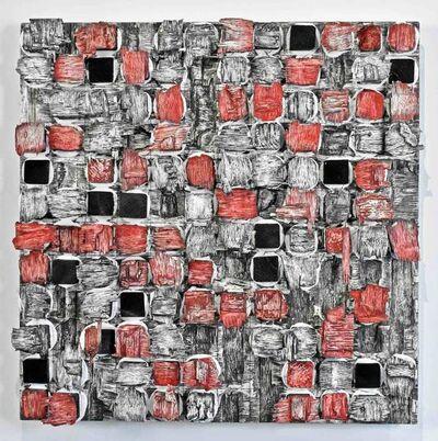 Joseph Fucigna, 'Blocks 3_Black, White and Cadmium Red', 2020