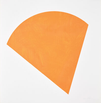 Ellsworth Kelly, 'Untitled (Orange State II)', 1988