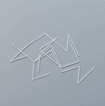 Manfred Mohr, 'Laserglyph', 1994