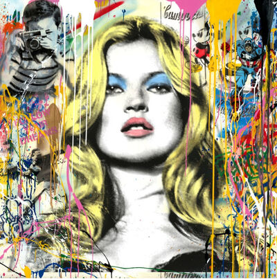 Mr. Brainwash, 'Kate Moss: Cover Girl', 2018