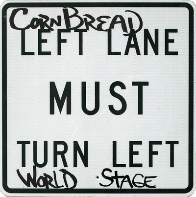 Cornbread, 'Must Turn Left World Stage', 2019
