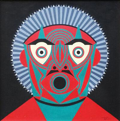 Roberto Magalhães, 'Máscara verde '