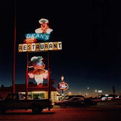 Derrick Santini, 'Dean's Restaurant, Nevada, USA', 1989