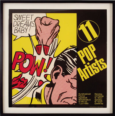 Roy Lichtenstein, 'Sweet Dreams Baby!, 11 Pop Artists', 1969