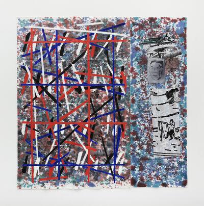 Eugenio Dittborn, 'Ordnung Airmail Painting No. 190', 2017