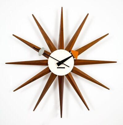 George Nelson, 'Sunburst Wall Clock Model 2202B'