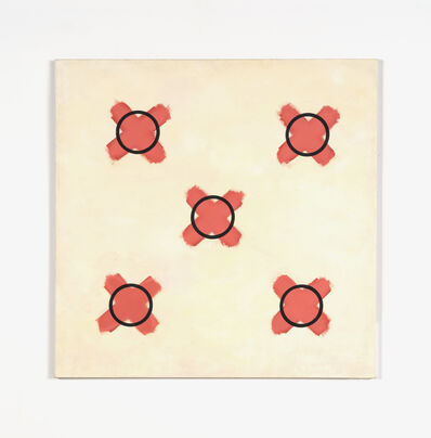 Jeremy Moon, 'Study for Painting with Crosses', 1961-62