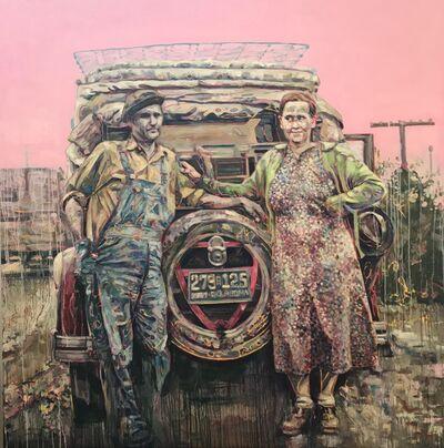 Hung Liu, 'Oklahoma', 2018