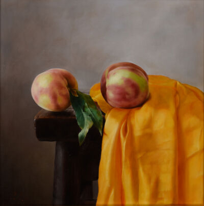 Weidong Wang, 'Still Life With Two Peaches', 2015