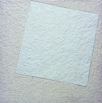 Vik Muniz, 'Suprematist composition: white on white, after Kazimir Malevich', 2007