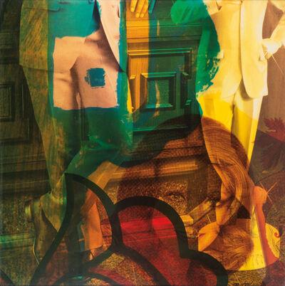 Mimmo Rotella, 'Vitrine', 1972