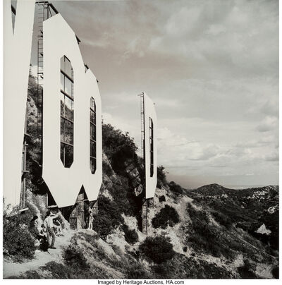 Dan Winters, 'Sign on a Hill, Hollywood, California', 1991