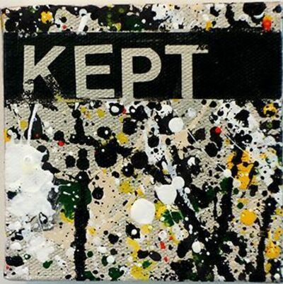Betty Tompkins, 'Kept', 2015