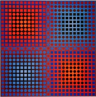 Victor Vasarely, 'PLANETARY FOLKLORE', 1971