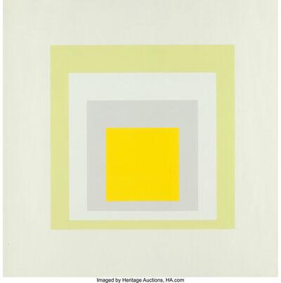 Josef Albers, 'Joy, from Portfolio of Homage to South', 1962