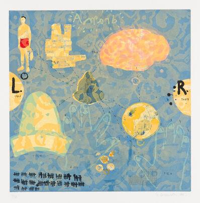 Squeak Carnwath, 'Different Paths', 1997
