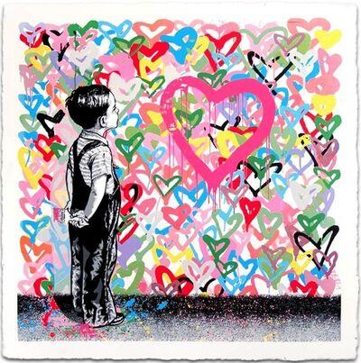 Mr. Brainwash, 'With All My Love', 2016