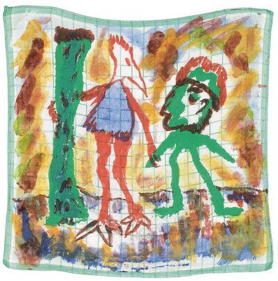 Alfred Klinkan, 'Handkerchief Painting', 1978