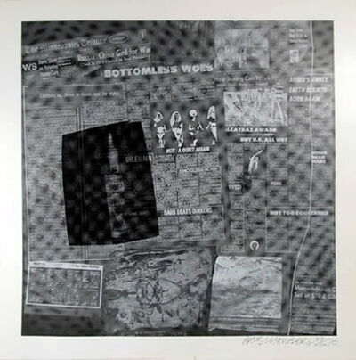Robert Rauschenberg, 'Current & Surface #18'
