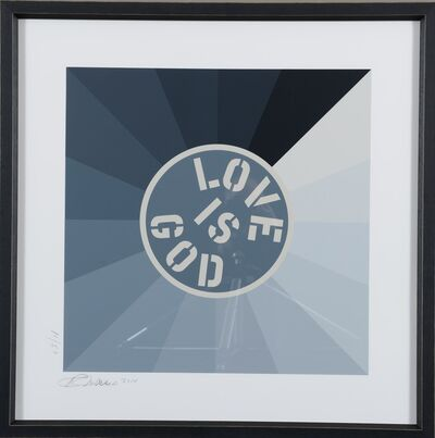 Robert Indiana, 'Love is God', 2014