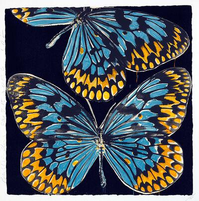 Donald Sultan, 'Butterflies, Jan 25, 2006', 2006