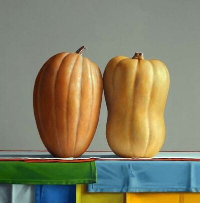 Janet Rickus, '2 Members of the Cucurbita Family', 2010