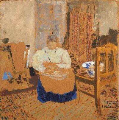 Édouard Vuillard, ' Femme dans un intérieur / Woman in an interior'