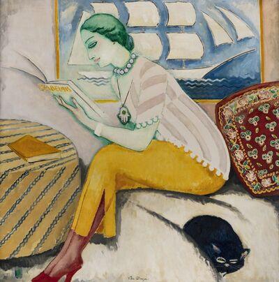 Kees van Dongen, 'La lecture ou Rabelais', Peint à Paris en 1911