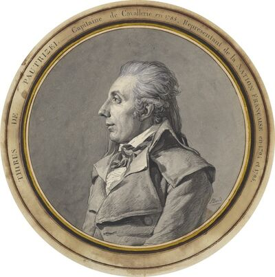 Jacques-Louis David, 'Thirius de Pautrizel', June or July 1795