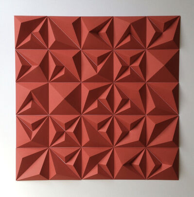 Matt Shlian, 'RLRR (Red)', 2017