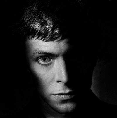 Clive Arrowsmith, 'David Bowie from the Shadows, London Studio', 1977