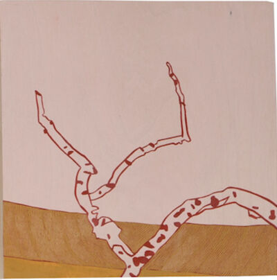 Meredith Nemirov, 'Branch/Pink Sky', 2014