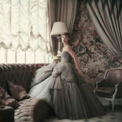 Mark Shaw, 'Sophie Malgat Wears Dior in Dior's Passy Home, Paris,', 1953