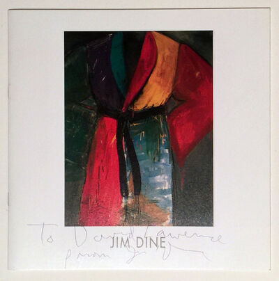 Jim Dine, 'Jim Dine Signed Art Catalog, Bentley Gallery Hearts, Free US Shipping', 2001