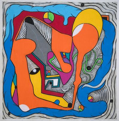 Luis Cruz Azaceta, 'River Flow I', 2008