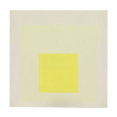 Josef Albers, 'Study for Homage to the Square: Light Resonance'