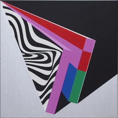 Moritz Green, 'Chrom Quadrat I', 2020