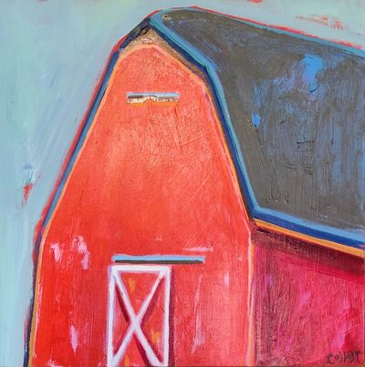 Tim Collom, 'Red Barn', 2019